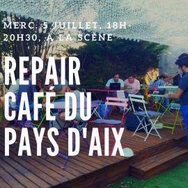 Repair Café du 5 Juillet à la Scène
