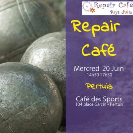 Repair Café le 20 juin à Pertuis