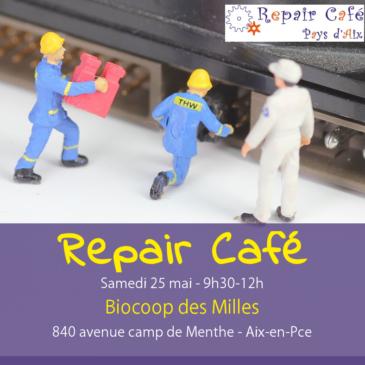 Repair Café aux Milles le 25 mai